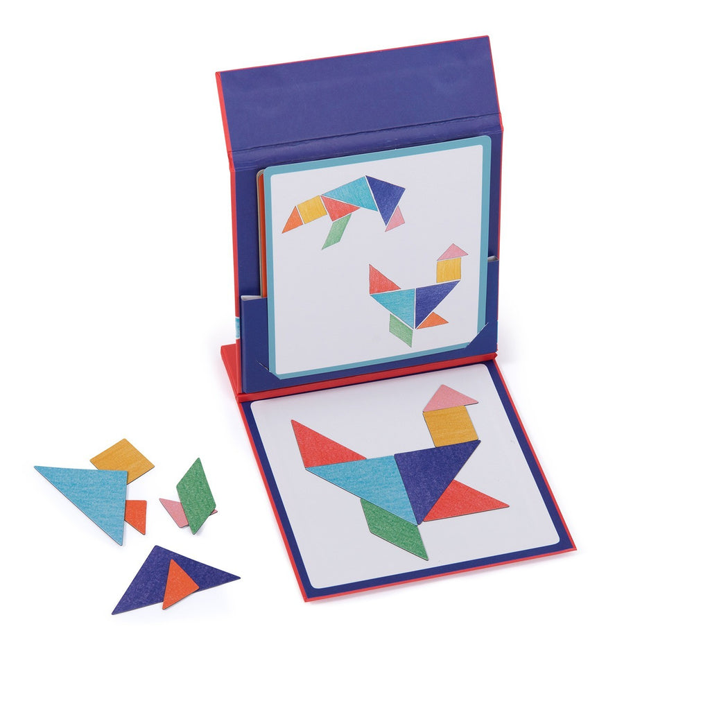 Tangram magnético - Moulin Roty