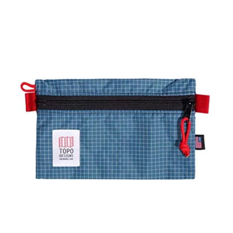 Topo Accessory Bag Blue/White Ripstop