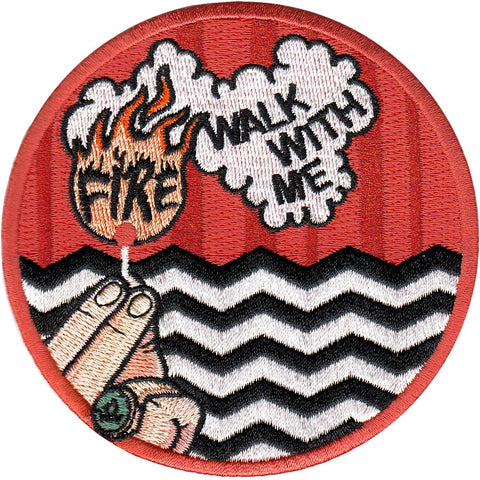Parche Fire Walk With Me - Twin Peaks