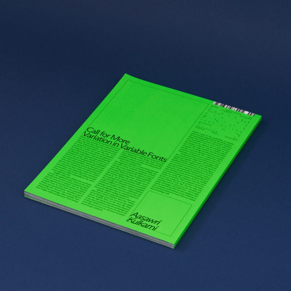 Typeone - Issue 02 Lenticular Cover