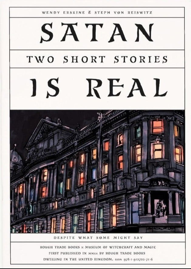 Satan is Real: Two Short Stories - Wendy Erskine & Steph von Reiswitz