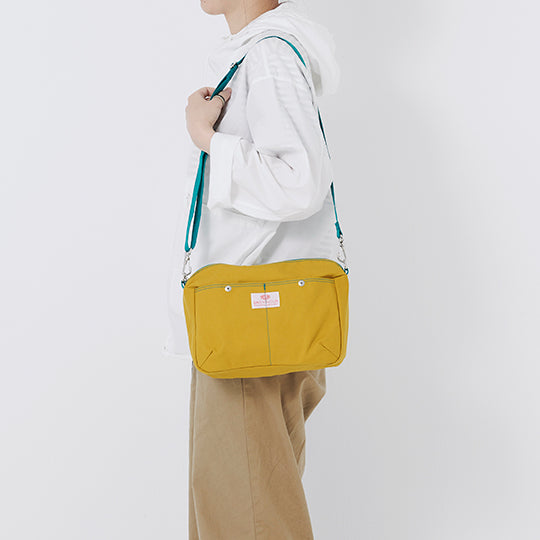 Pochette Canvas Mustard - BAG'n'NOUN