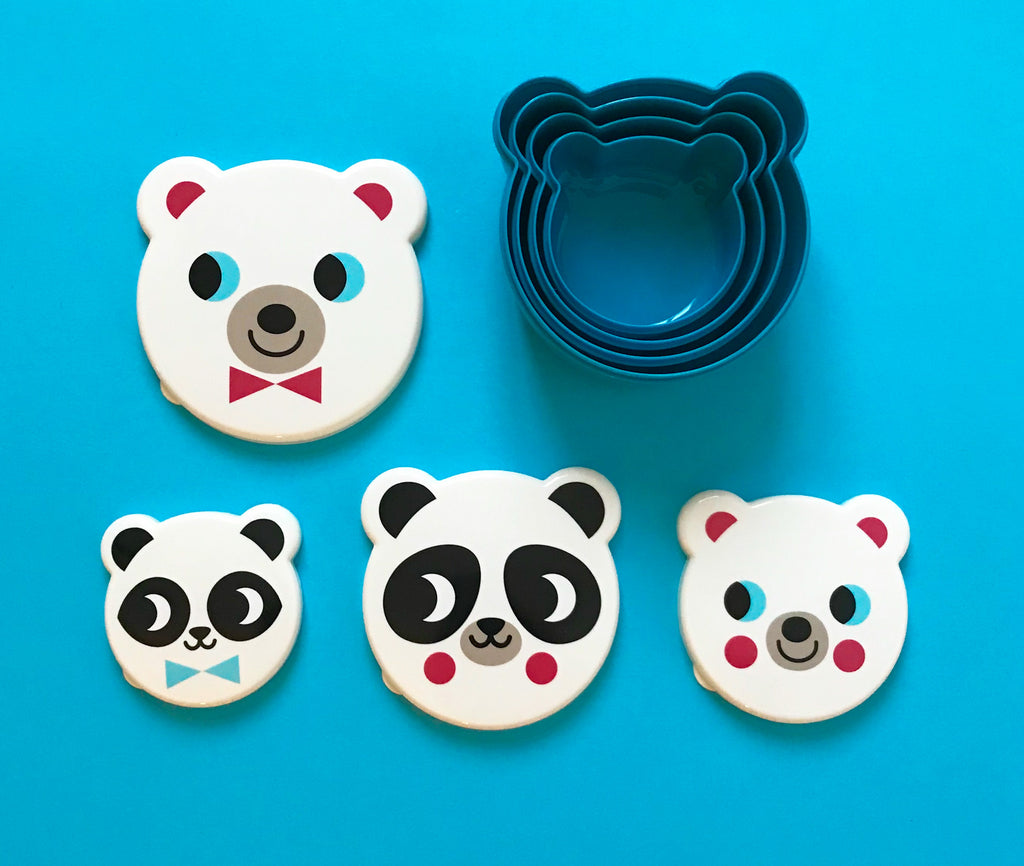 Set de 4 Cajas Lunch Box Oso Ingela P Arrhenius