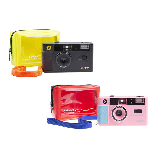 SHOW camera by Dubblefilm - Pack de 2 - Rosa y Negra