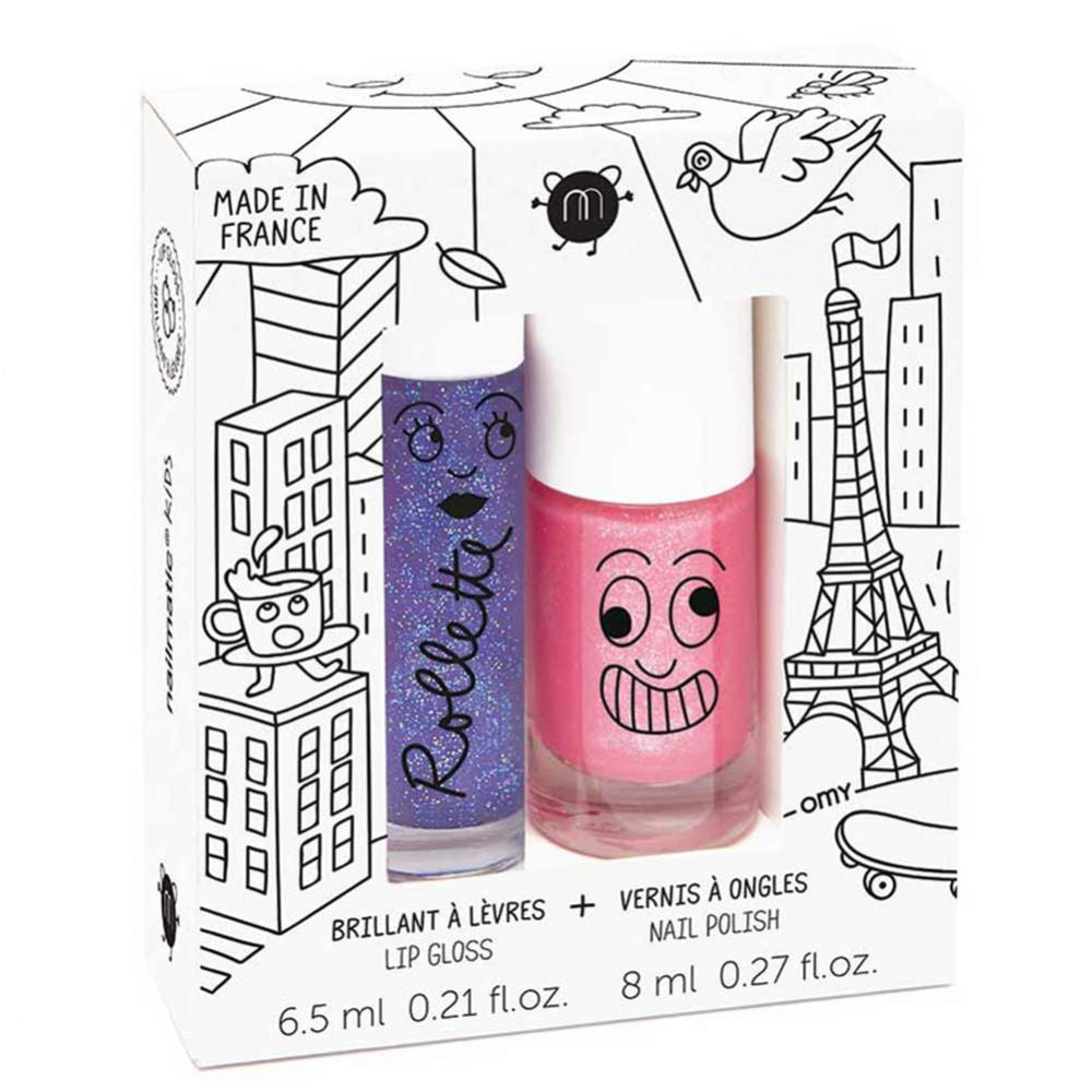 Set pintauñas y brillo de labios Nailmatic