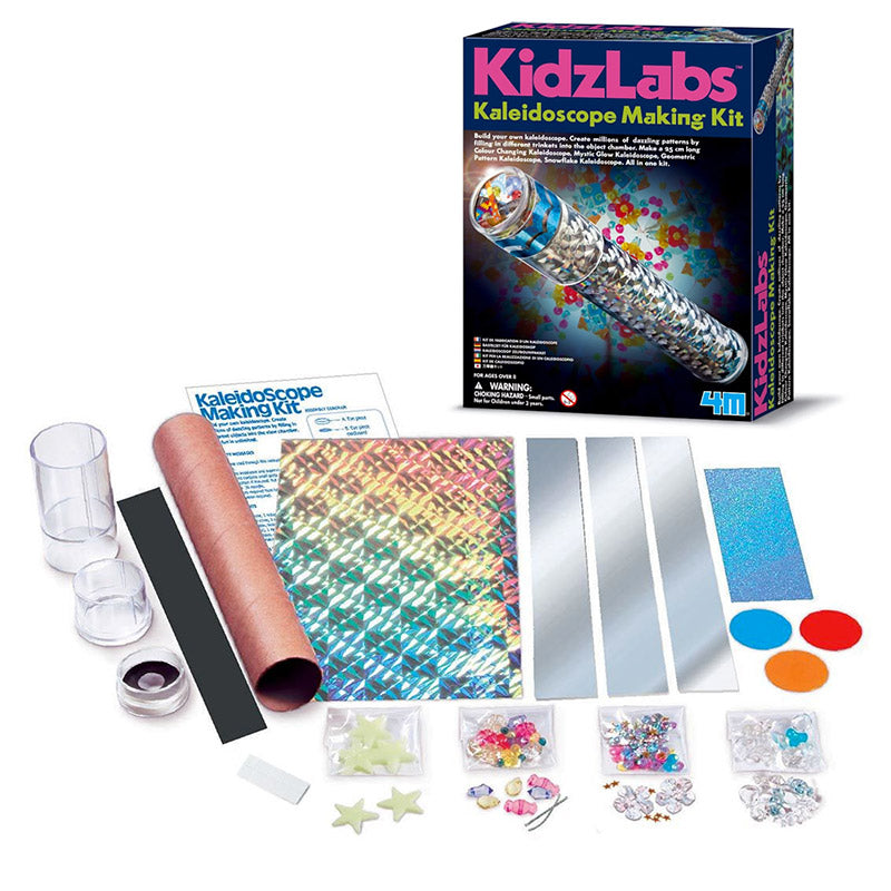 Kaleidoscope Making Kit - KidzLabs