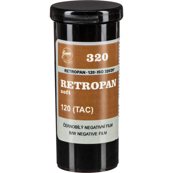 Retropan Soft 320 ASA 120mm