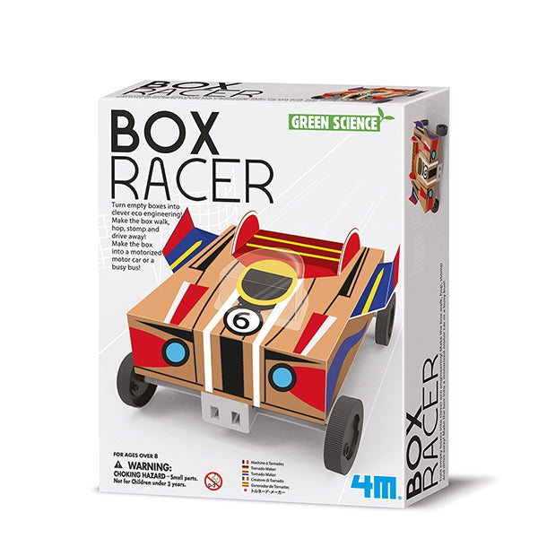 Box Racer. Green science coche inteligente