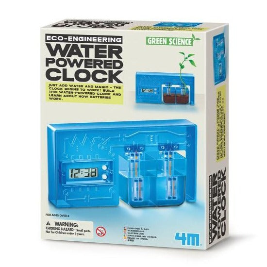 Green Science Water Powered Clock - KidzLabs