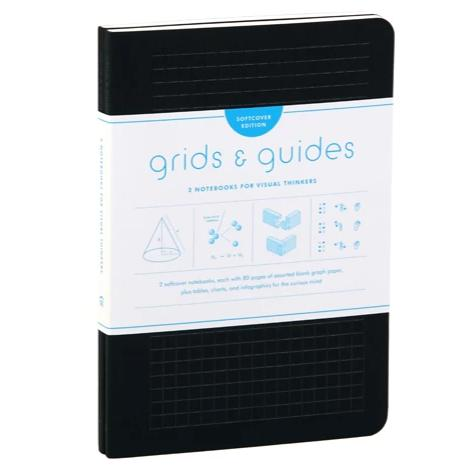Grids & Guides Softcover. Two Notebooks for Visual Thinkers