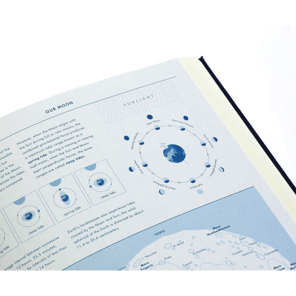 Grids & Guides Navy. A Notebook for Visual Thinkers