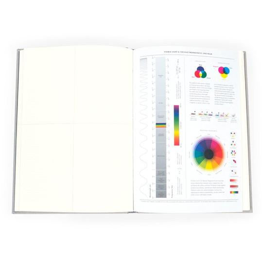 Grids & Guides Gray. A Notebook for Visual Thinkers