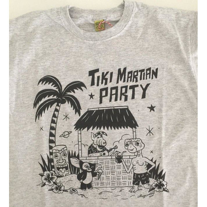 Camiseta Tiki Martian Party - Sergio Mora
