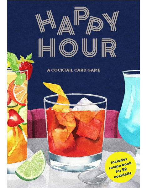 Happy Hour. A Cocktail Card Game