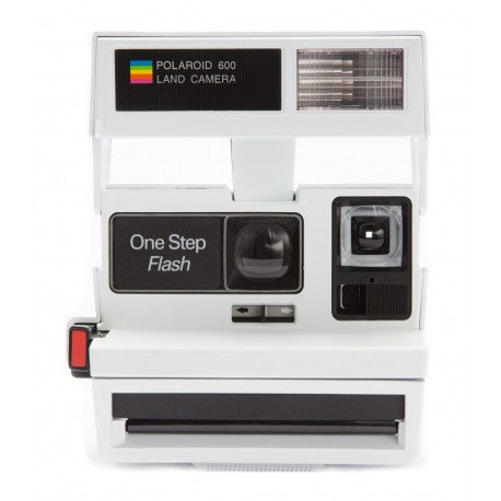 Polaroid 600 White Smiley - Edición Especial Limitada