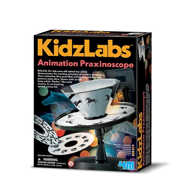 Animation Praxinoscope - Kidzlabs