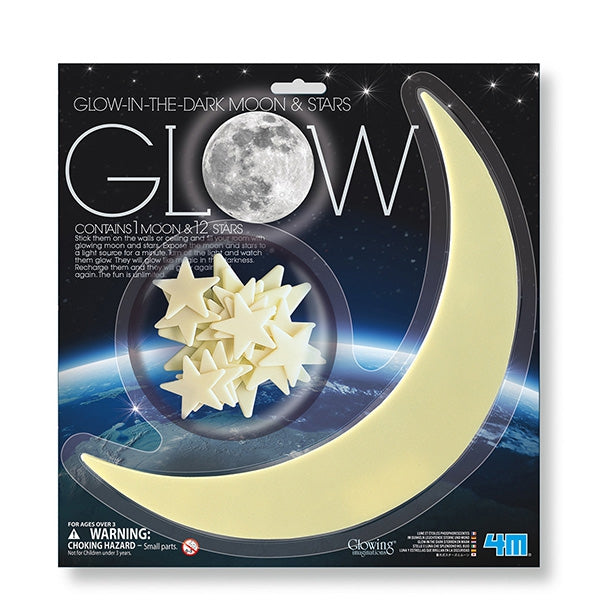 Glow in the Dark Moon & Stars