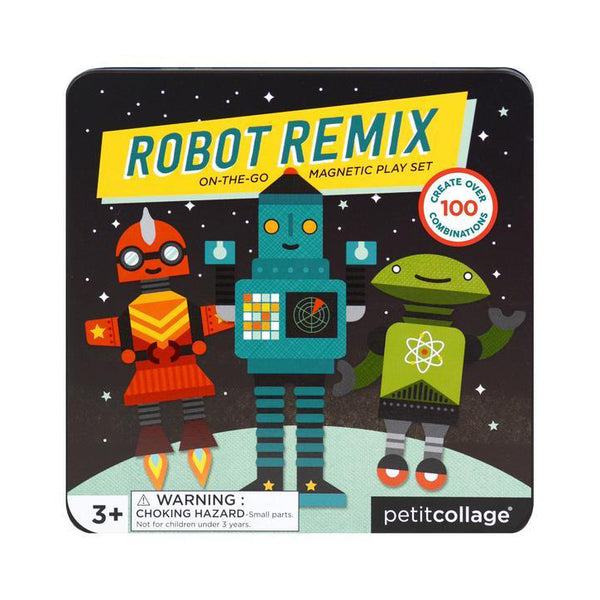 Robot Remix - Juego magnetico