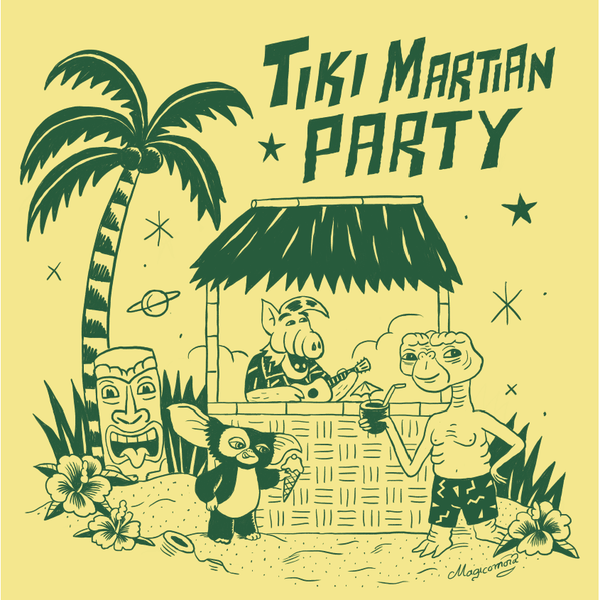 Camiseta Tiki Martian Party - Kids