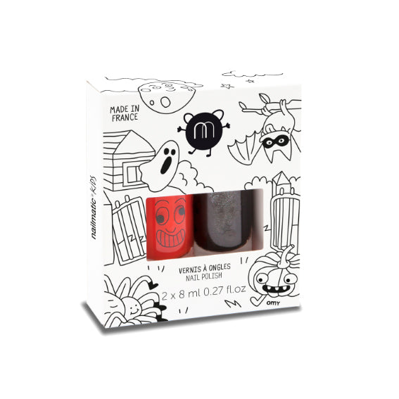 Pack duo Halloween Pintauñas Nailmatic