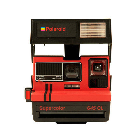 Polaroid Supercolor 645 CL Roja