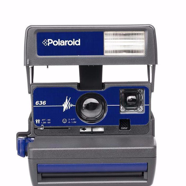 Polaroid 636 Closeup Azul