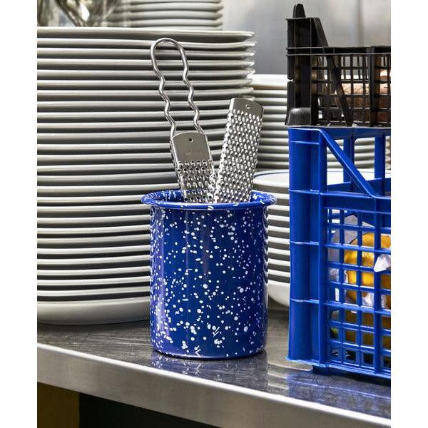 Utensil Holder enamel HAY