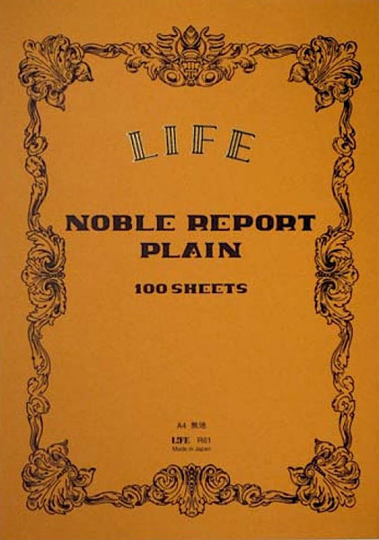 Cuaderno Life A4 Noble Report - Plain