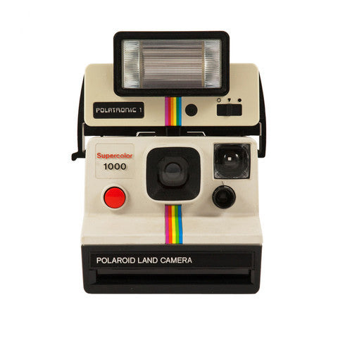Polaroid Supercolor 1000 + Flash Polatronic 1