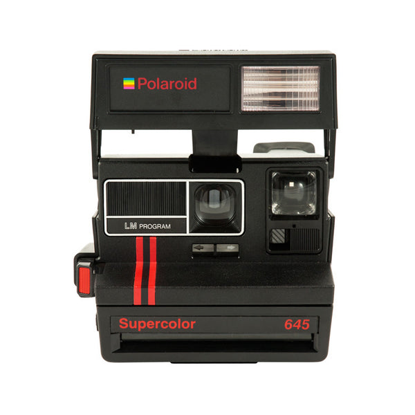 Polaroid SuperColor 645 bandas rojas