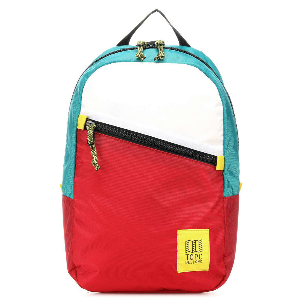 Light Pack Topo white/red/turquoise