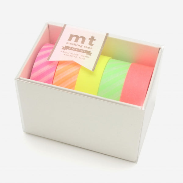 Masking Tape - 5 colores Neon