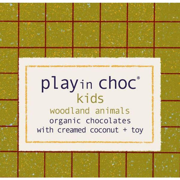 PLAYin Choc Kids - Woodland animals