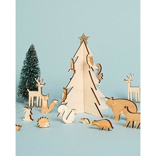 Calendario de Adviento Woodland
