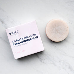 Citrus Lavender Conditioner Bar: Normal - Oily Hair