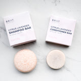 Citrus Lavender Shampoo and Conditioner Bar Set: Normal - Oily Hair