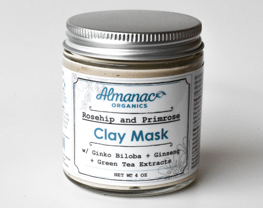 Rosehip and Primrose Clay Mask