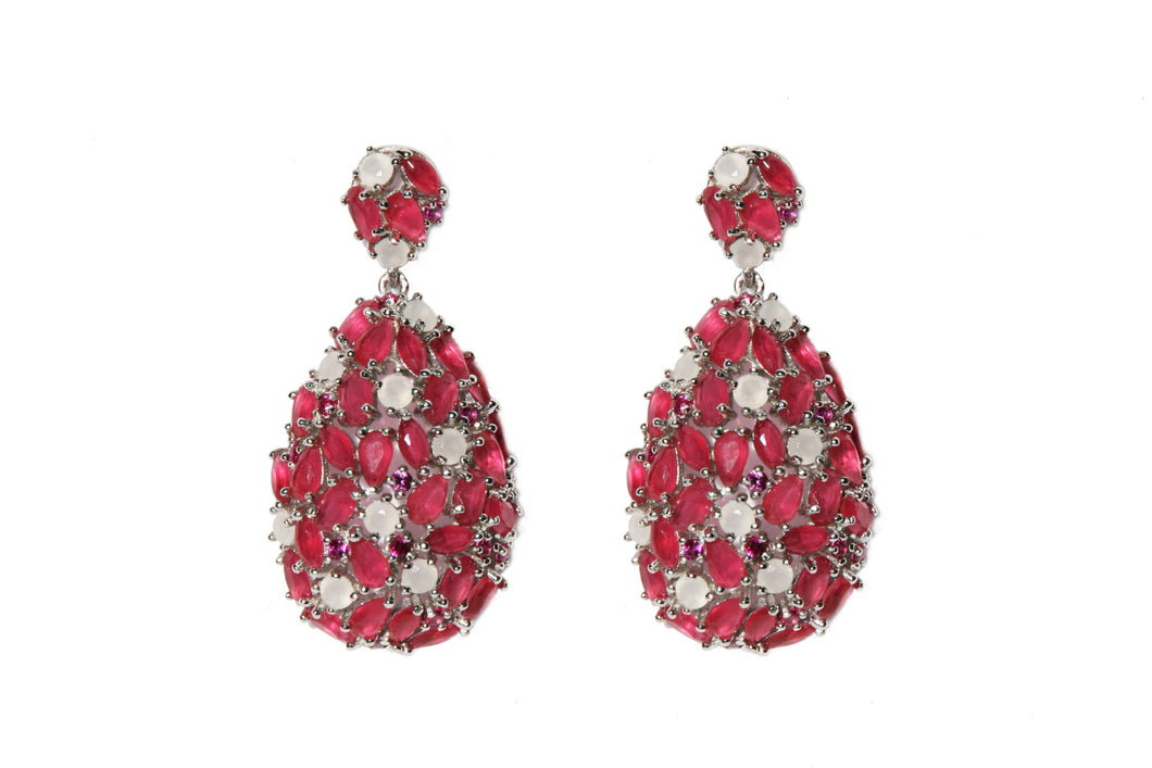 Pendientes Red Faberge