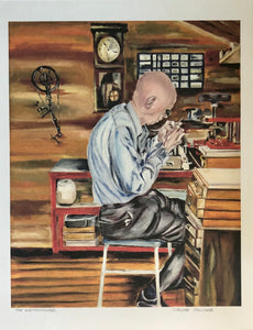 The Watchmaker - Print