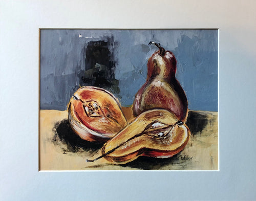 Pears in Oil - Print