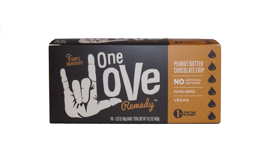 Peanut Butter Chocolate Chip Bar Box of 10