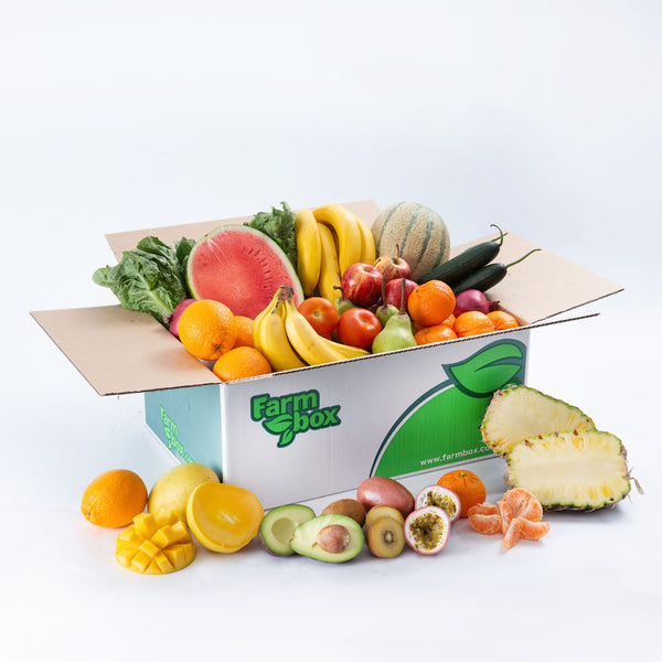 Tropical Fruit Salad Box.