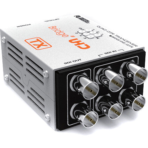 DIGITAL FORECAST 3GSDI-TX 4-Channel RX & 2-Channel (Max 10KM) / Quad 3G to Optic