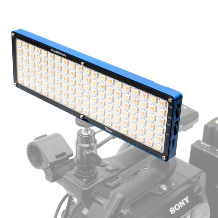 Yegrin MegaLED Recta 9w On-Camera Dimmable LED Light with Internal Battery