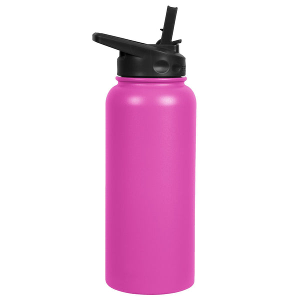 34oz Water Bottle - Straw Lid