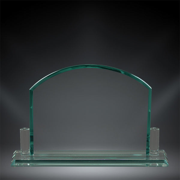 "Montreal Glass Award - 6 1/4"" x 7 1/4"""