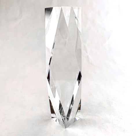"Diamond Tower Crystal - Medium - 2 3/4"" X 10"""