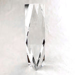 "Diamond Tower Crystal - Small - 2 1/2"" X 8"""