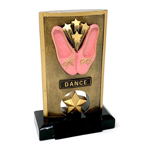 "Resin Spinner Dance Award - 4 1/4"" x 6 1/5"""