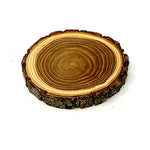 Old West Log Elmwood Coaster - 4""